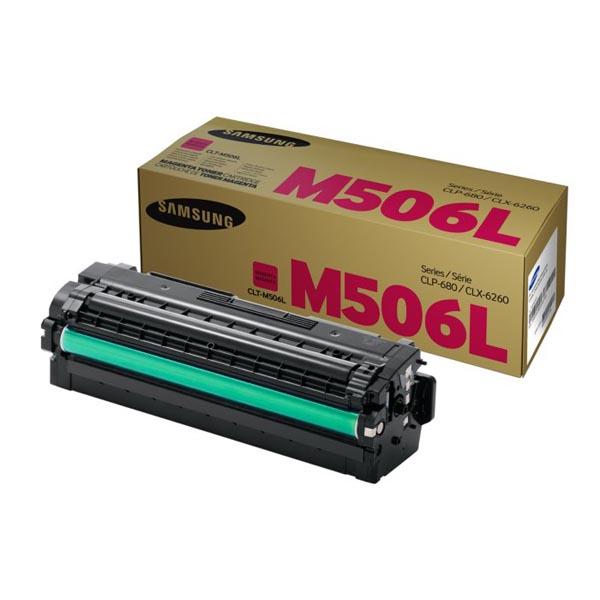 HP originál toner SU305A, CLT-M506L, magenta, 3500str., M506S, high capacity, Samsung CLP-680DW, CLX-6260FD, O