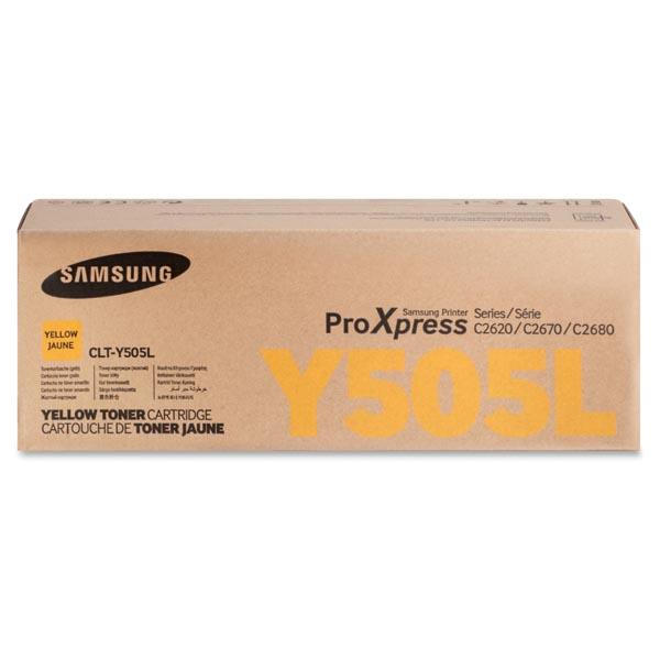 HP originál toner SU512A, CLT-Y505L, yellow, 3500str., Y505L, high capacity, Samsung O