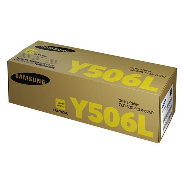 HP originál toner SU515A, CLT-Y506L, yellow, 3500str., Y506S, high capacity, Samsung O