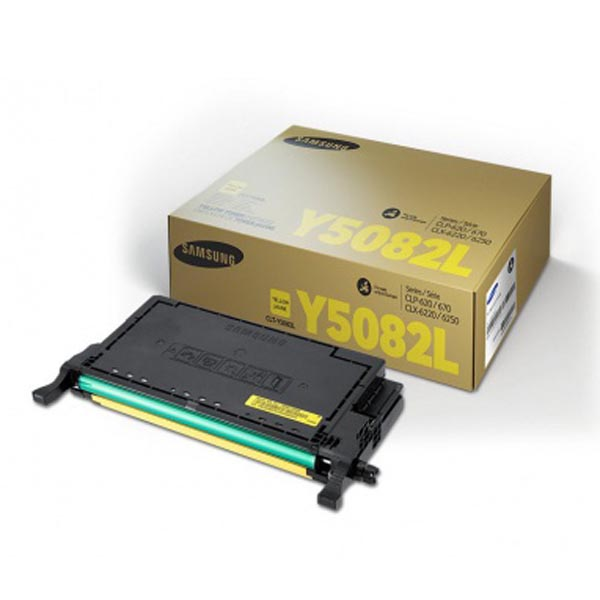 HP originál toner SU532A, CLT-Y5082L, yellow, 4000str., Y5082L, Samsung O