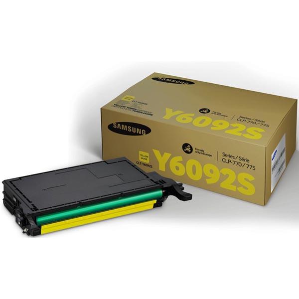 HP originál toner SU559A, CLT-Y6092S, yellow, 7000str., Y6092S, Samsung O