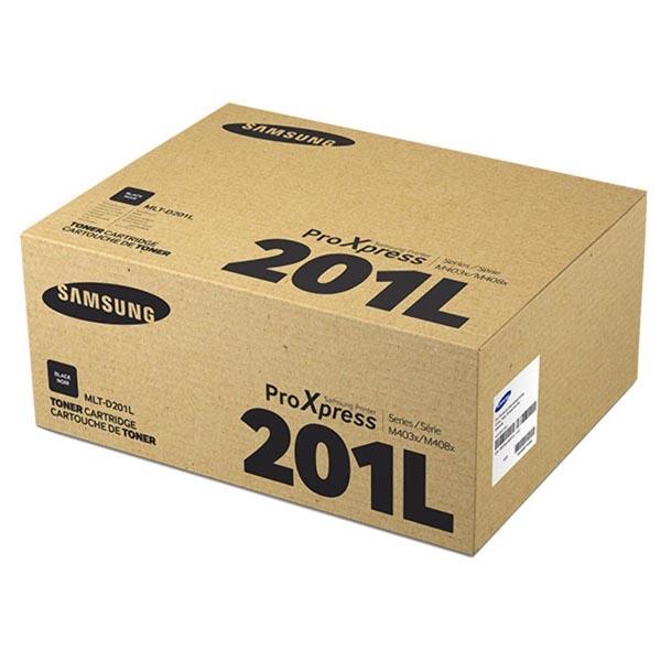 HP originál toner SU870A, MLT-D201L, black, 20000str., 201L, high capacity, Samsung SL-M4030ND, SEE, O
