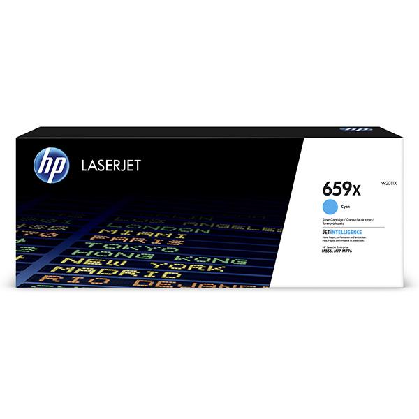 HP originál toner W2011X, cyan, 29000str., HP 659X, high capacity, HP Color LaserJet Enterprise M856dn,M856x,LaserJet En, O