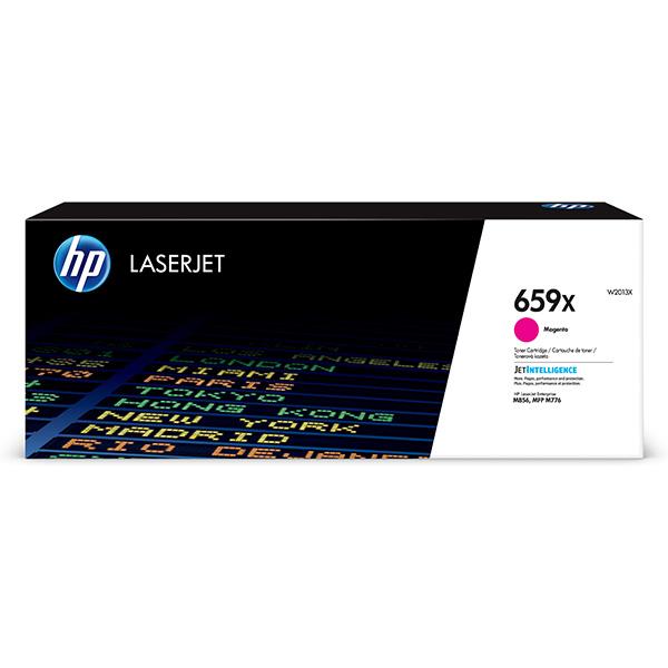 HP originál toner W2013X, magenta, 29000str., HP 659X, high capacity, HP Color LaserJet Enterprise M856dn,M856x,Color Laser