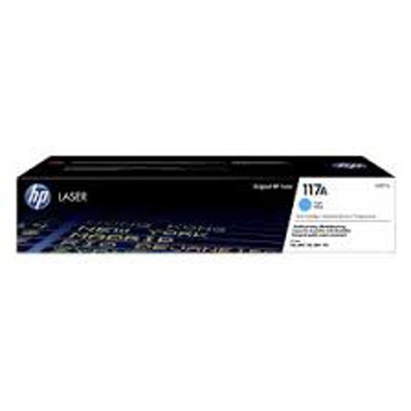 HP originál toner W2071A, cyan, 700str., HP 117A, HP Color Laser 150, MFP 178, MFP 179, O