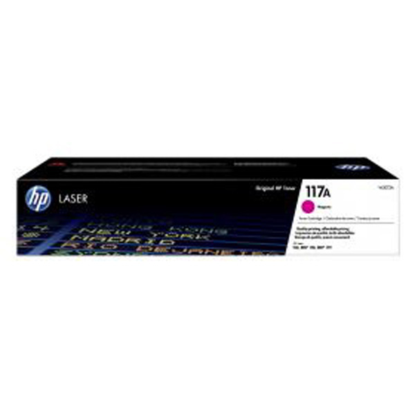HP originál toner W2073A, magenta, 700str., HP 117A, HP Color Laser 150, MFP 178, MFP 179, O