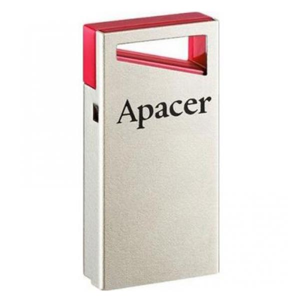 Apacer USB flash disk, USB 2.0, 16GB, AH112, strieborný, AP16GAH112R-1, USB A