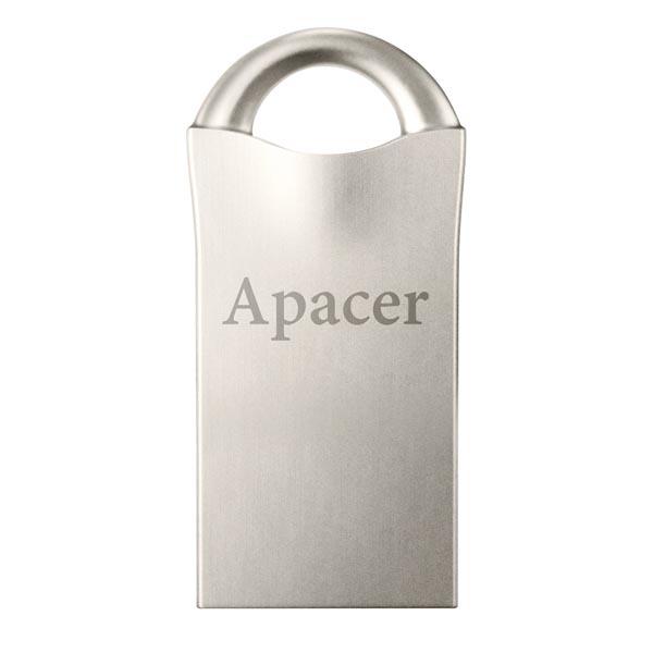 Apacer USB flash disk, USB 2.0, 16GB, AH117, strieborný, AP16GAH117S-1, USB A