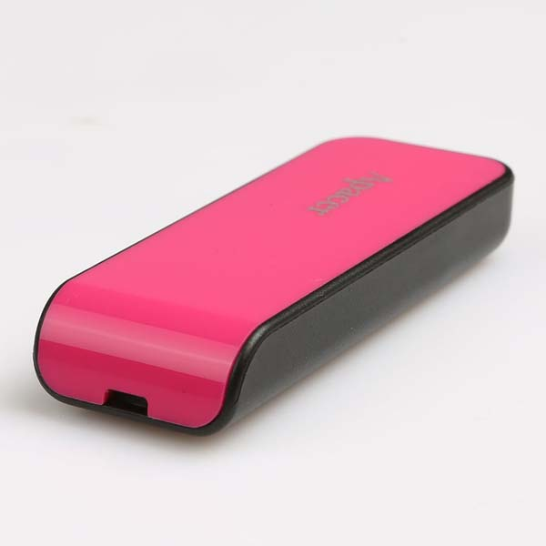 Apacer USB flash disk, USB 2.0, 16GB, AH334, ružový, AP16GAH334P-1, USB A, s výsuvným konektorom