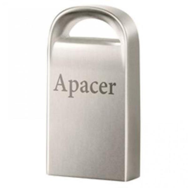 Apacer USB flash disk, USB 2.0, 32GB, AH115, strieborný, AP32GAH115S-1, USB A