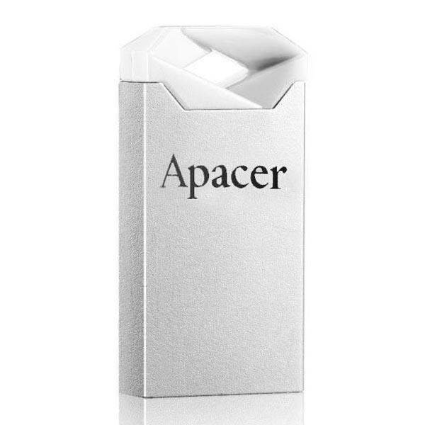 Apacer USB flash disk, USB 2.0, 32GB, AH111, strieborný, AP32GAH111CR-1, USB A