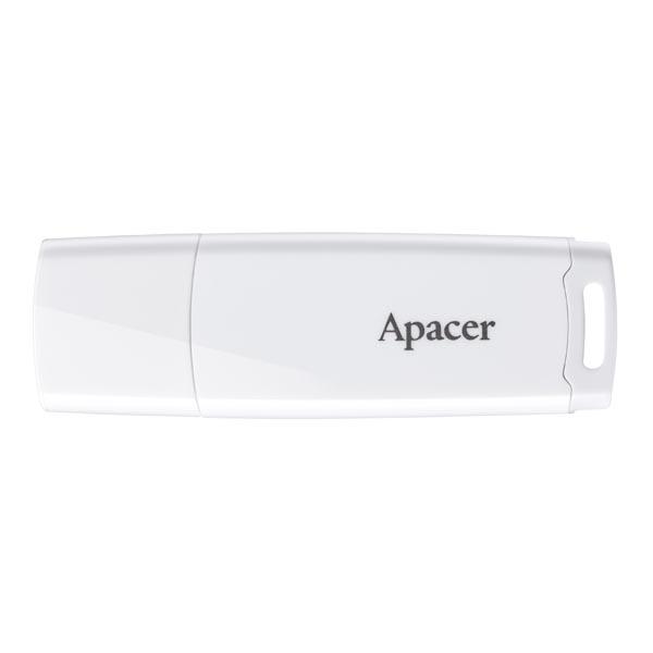 Apacer USB flash disk, USB 2.0, 32GB, AH336, biely, AP32GAH336W-1, USB A, s krytkou