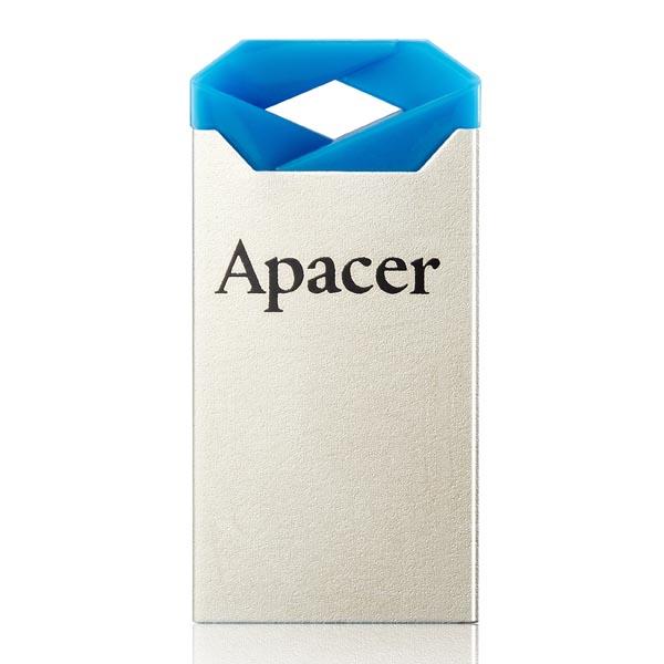 Apacer USB flash disk, USB 2.0, 64GB, AH111, modrý, AP64GAH111U-1, USB A, s pútkom