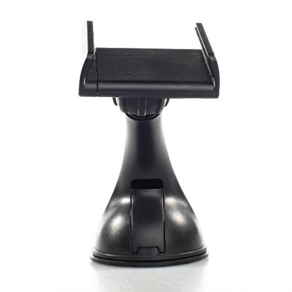 Držiak mobilu(GPS) Swissten do auta, nastavitelná šírka, čierny, plast, prísavka na sklo, kĺbový, čierna, mobil