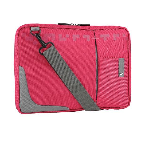 """Taška na tablet 10,2"""", ružová z nylónu, NT008 typ Crown"""