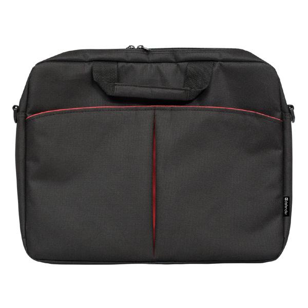 """Taška na notebook 16"""", Iota, čierna z polyesteru, Defender"""