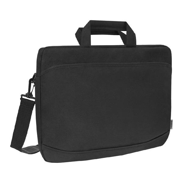"""Taška na notebook 17"""", Monte, čierna z polyesteru, Defender"""