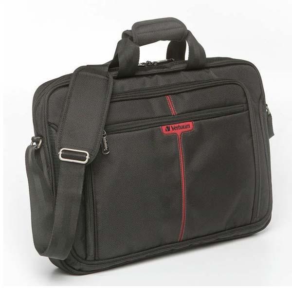 """Taška na notebook 17"""", London, čierna z polyesteru, Verbatim"""