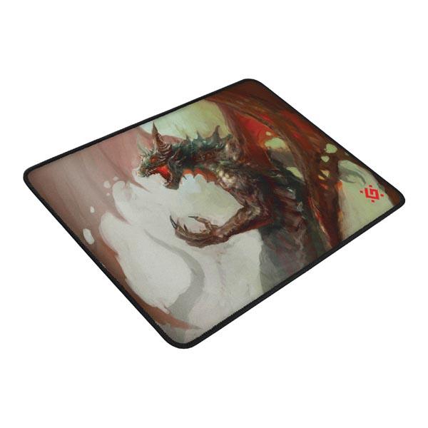 24794182e Podložka pod myš, Dragon Rage M, herná, červeno-biela, 36x27 cm ...