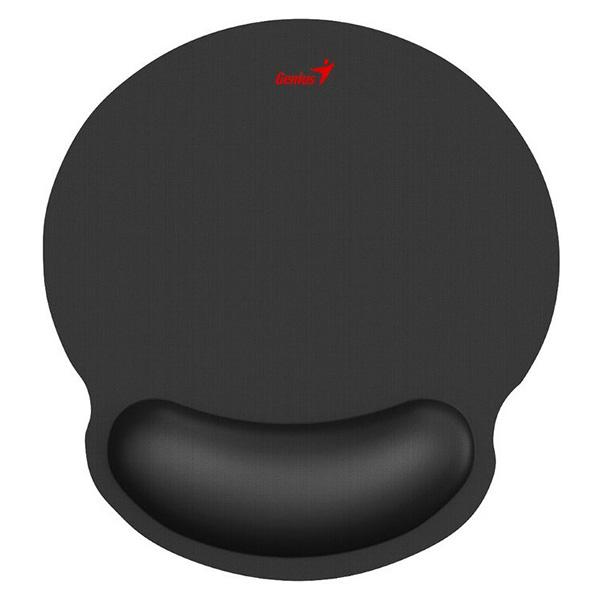 Podložka pod myš G-WMP 100,s gélovou podložkou, látková,protišmyková, čierna, 250*230 mm, 25 mm, Genius