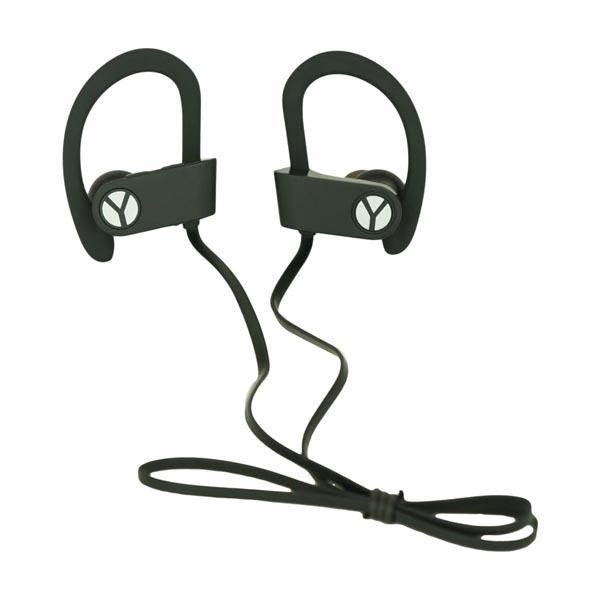 YZSY DINOX Sports & Outdoor, slúchadlá s mikrofónom, ovládanie hlasitosti, čierna, bluetooth