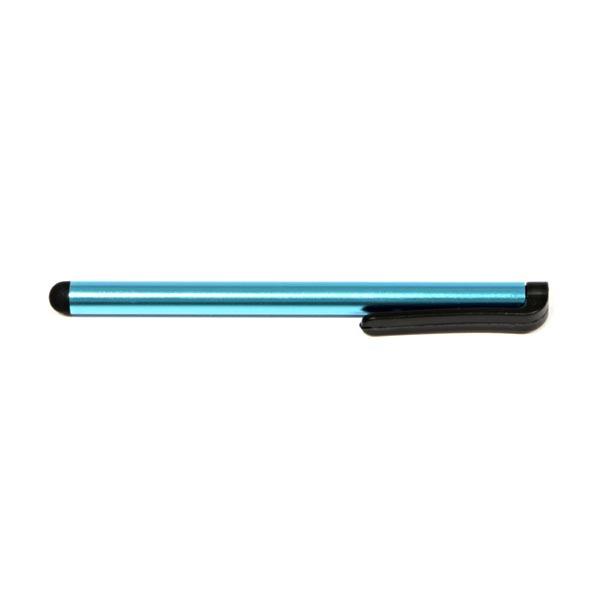 Dotykové pero, kapacitné, kov, svetlo modré, pre iPad a tablet