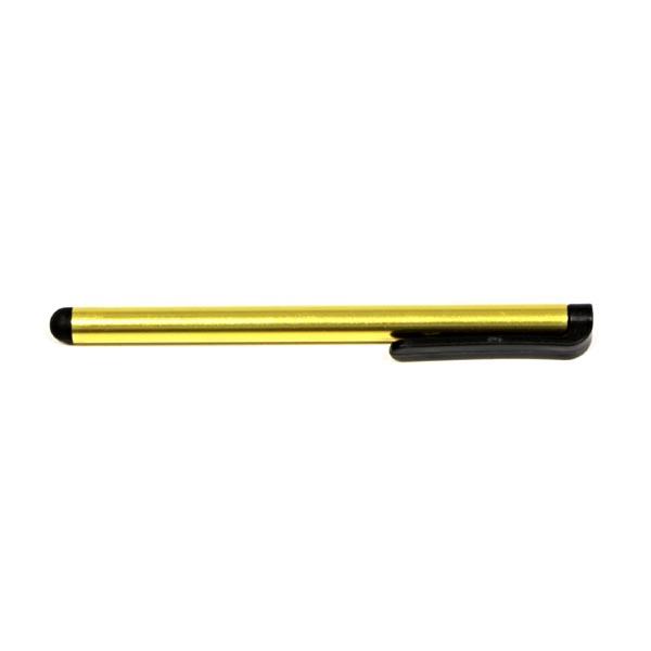 Dotykové pero, kapacitné, kov, žlté, pre iPad a tablet