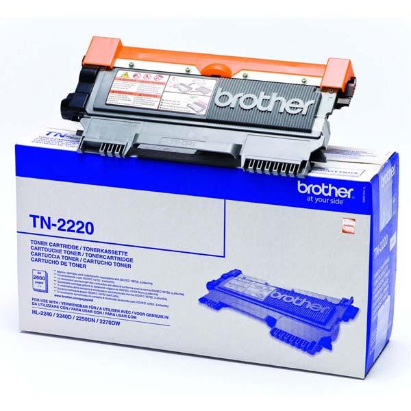 Brother originál toner TN2220, black, 2600str., Brother HL-2240D, 2250DN, O