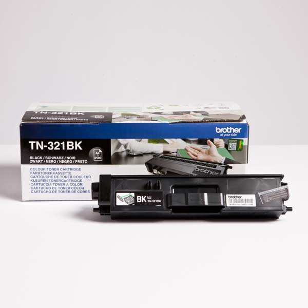 Brother originál toner TN-321BK, black, 2500str., Brother HL-L8350CDW,HL-L9200CDWT, O