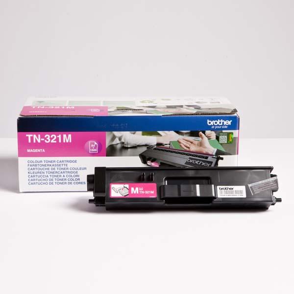 Brother originál toner TN-321M, magenta, 1500str., Brother HL-L8350CDW,HL-L9200CDWT, O