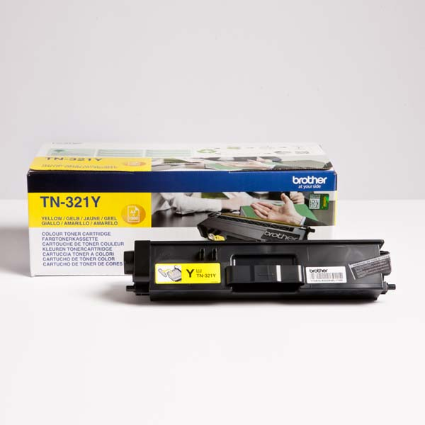 Brother originál toner TN-321Y, yellow, 1500str., Brother HL-L8350CDW,HL-L9200CDWT, O