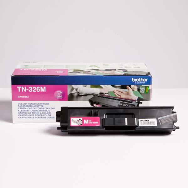 Brother originál toner TN-326M, magenta, 3500str., Brother HL-L8350CDW, DCP-L8400CDN, O