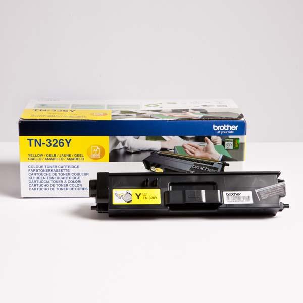 Brother originál toner TN-326Y, yellow, 3500str., Brother HL-L8350CDW, DCP-L8400CDN, O