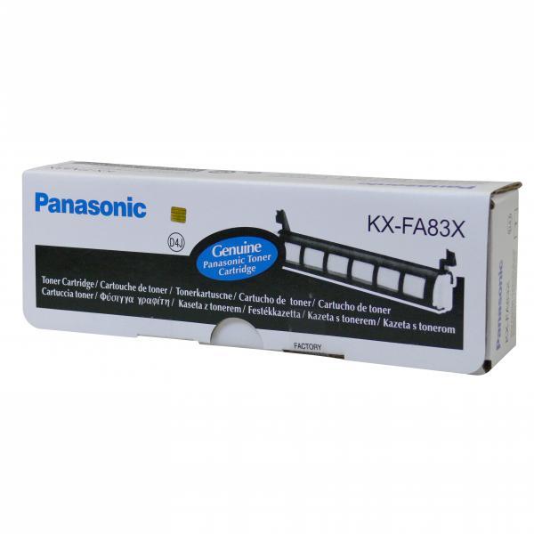 Panasonic originál toner KX-FA83X, black, 2500str., Panasonic KX-FL511,513,611,613, O