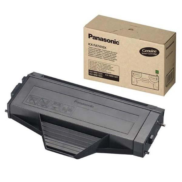 Panasonic originál toner KX-FAT410E/X, black, 2500str., Panasonic KX-MB1500,1520,1530, O