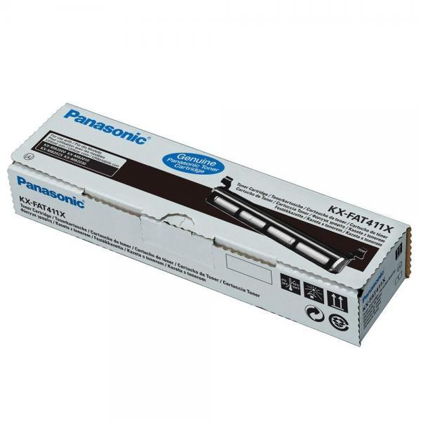Panasonic originál toner KX-FAT411X, black, 2000str., Panasonic KX-MB2000, 2010, 2025, 2030, 2061, O