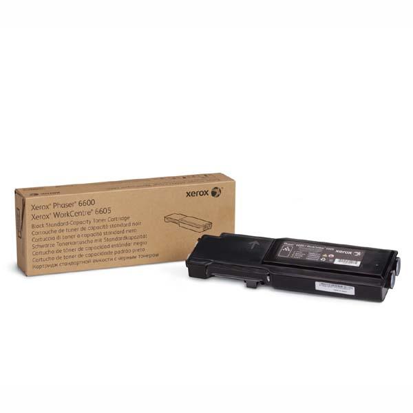 Xerox originál toner 106R02252, black, 3000str., Xerox Phaser 6600, WorkCentre 6605, O