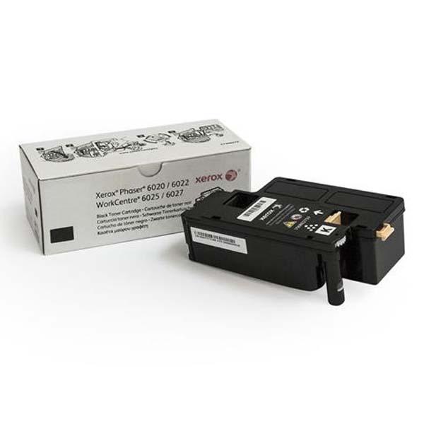 Xerox originál toner 106R02763, black, 2000str., Xerox Phaser 6020, 6022, WorkCentre 6025, 6027, O