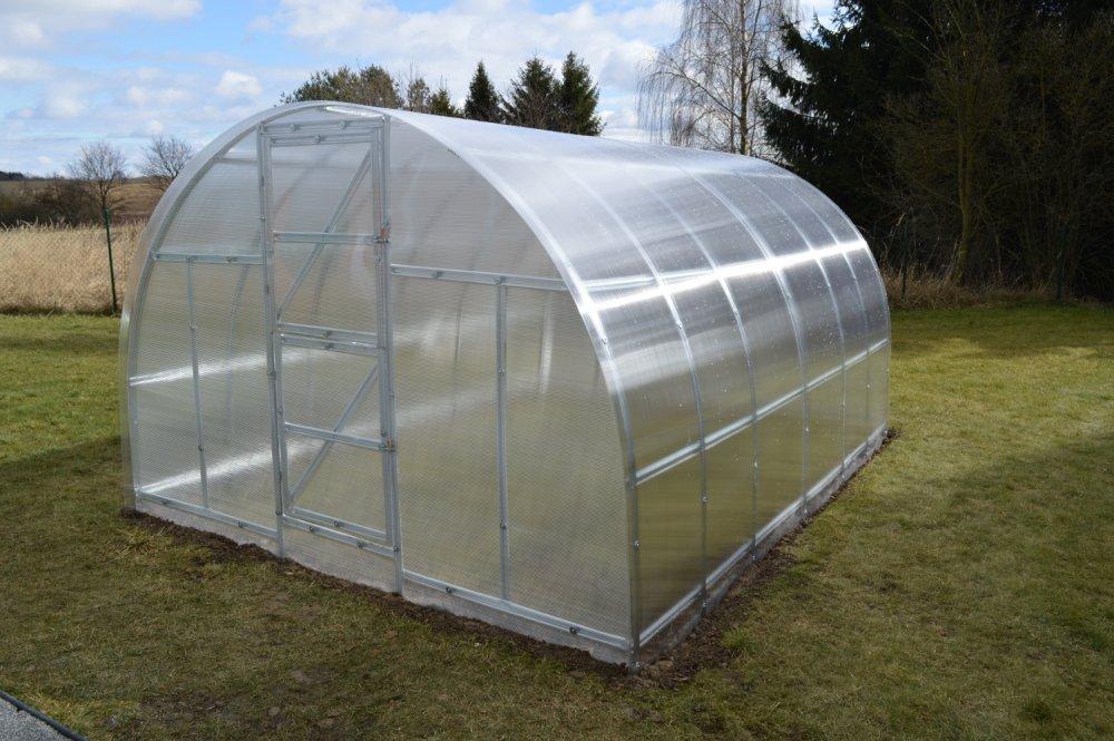 skleník LANITPLAST KYKLOP 3x4 m PC 4 mm