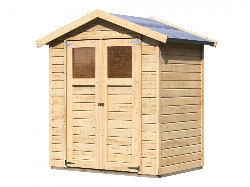 drevený domček KARIBU DAHME 1 (42558) natur
