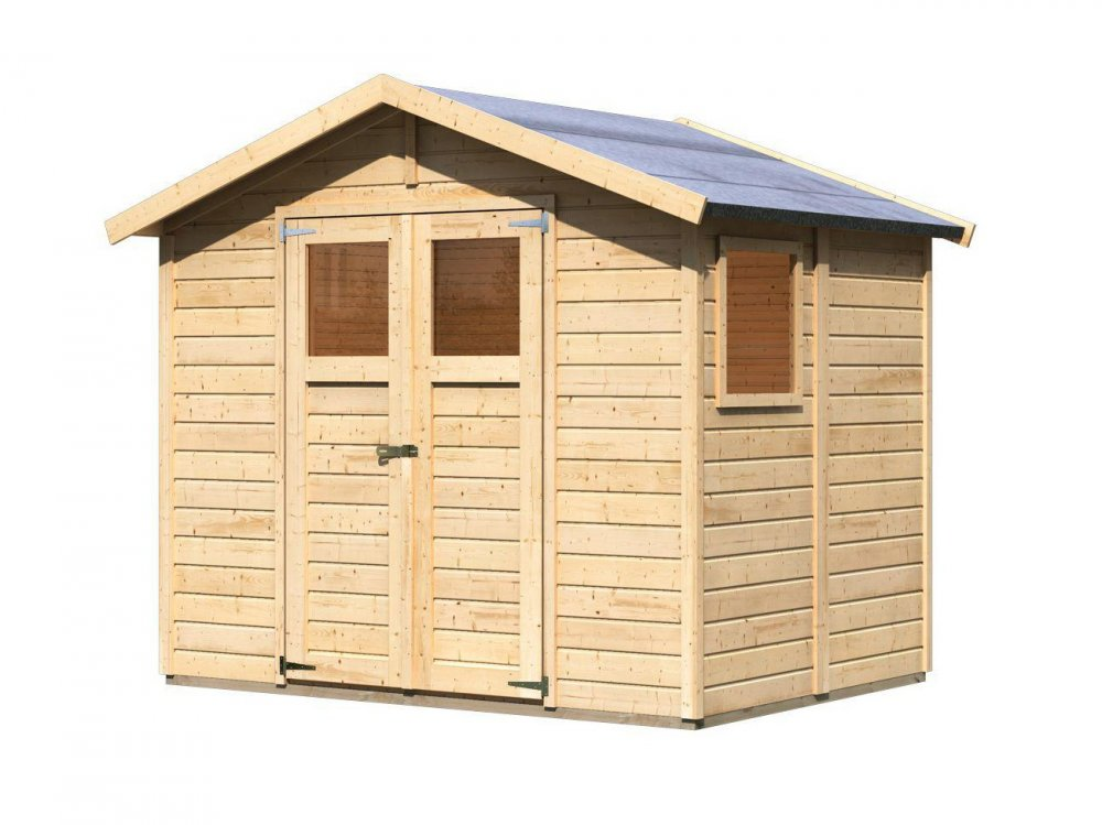 drevený domček KARIBU DALIN 1 (45281) natur