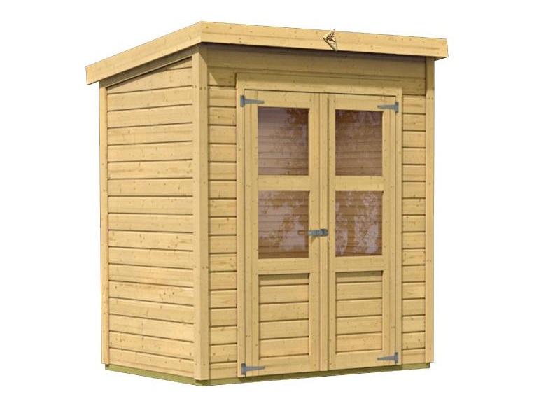 drevený domček KARIBU MERSEBURG 2 (68150) natur