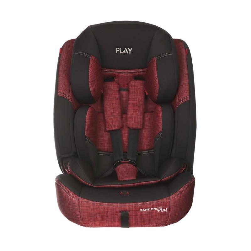 PLAY - Autosedačka Safe One Plus 9-36 kg - Red, 2019
