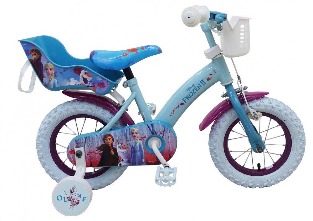 "VOLARE - Detský bicykel , Frozen 2, Blue-Purple 12 """