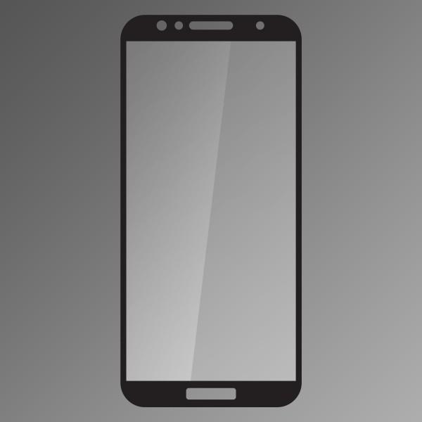 Ochranné sklo Q sklo Huawei Y6 Prime 2018 čierne, fullcover