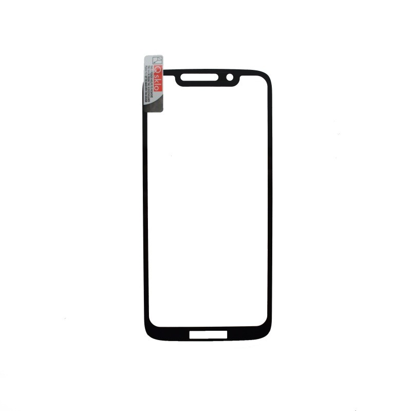 Ochranné sklo Moto G7 Play čierne, full glue