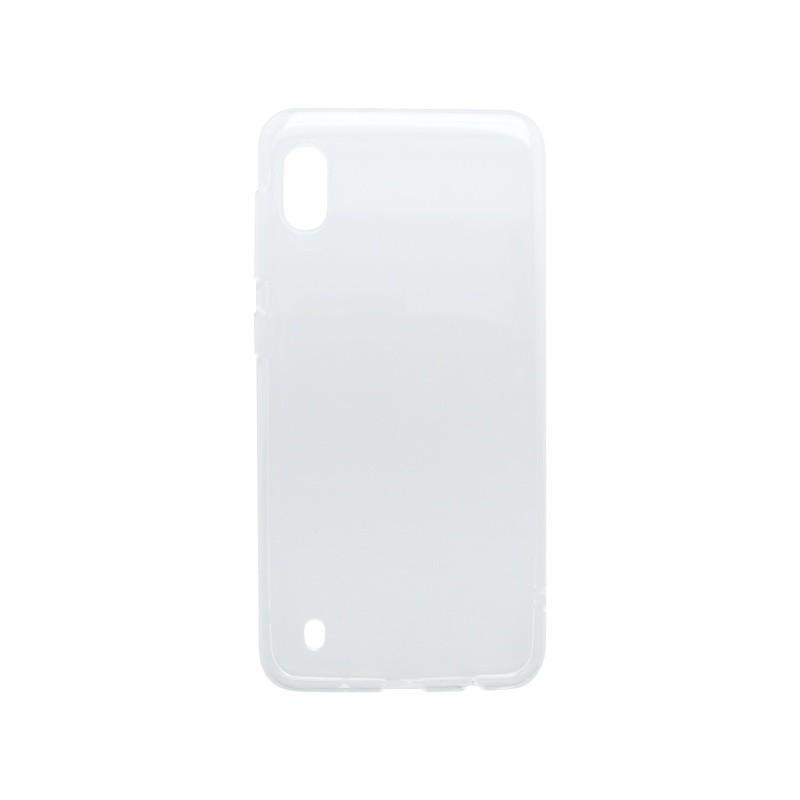 mobilNET silikónové puzdro Samsung Galaxy A10 priehľadné, nelepivé
