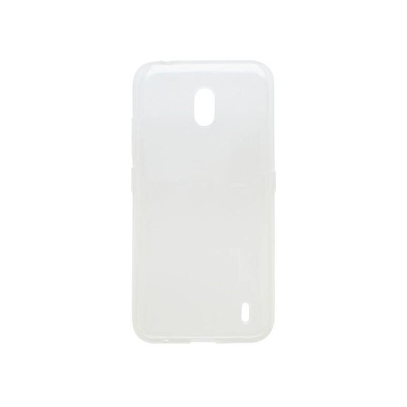 mobilNET silikónové puzdro Nokia 2.2 priehľadné, nelepivé