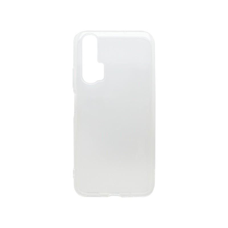 mobilNET silikónové puzdro Honor 20 Pro priehľadné, nelepivé