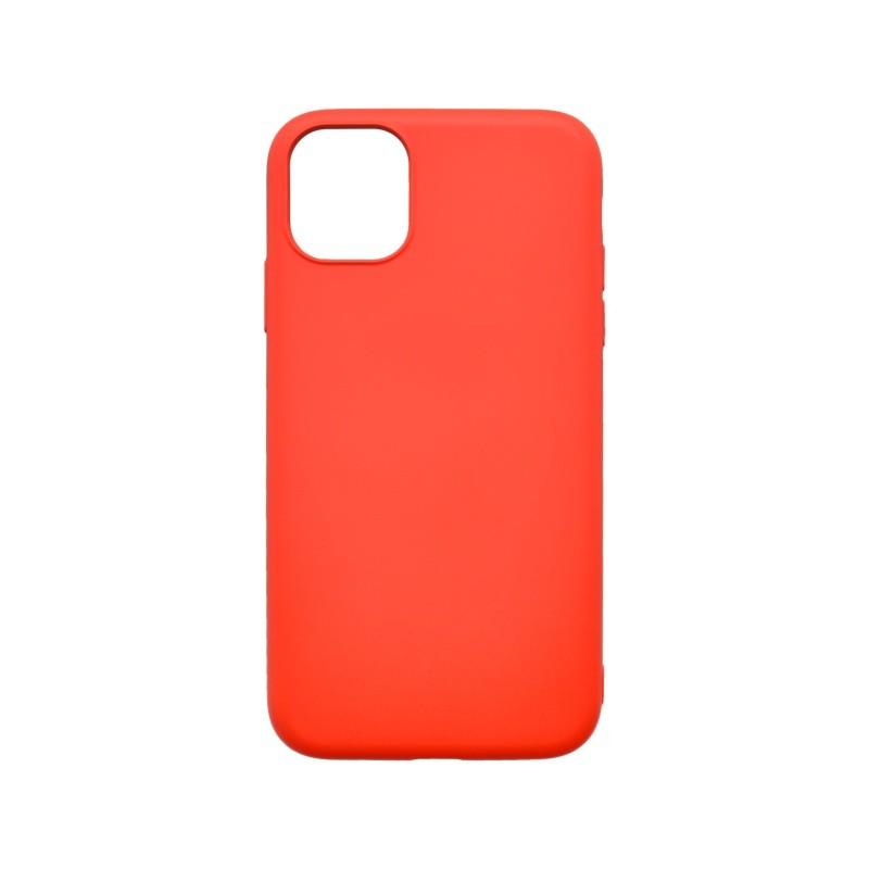 mobilNET silikónové kryt Soft, iPhone 11 červený